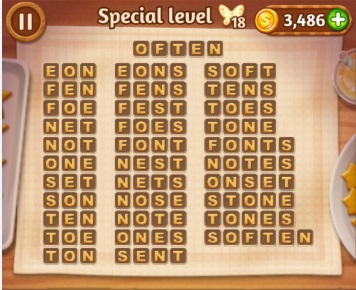 Word Cookies Rose Special Level 2 Answers Word Cookies Answers